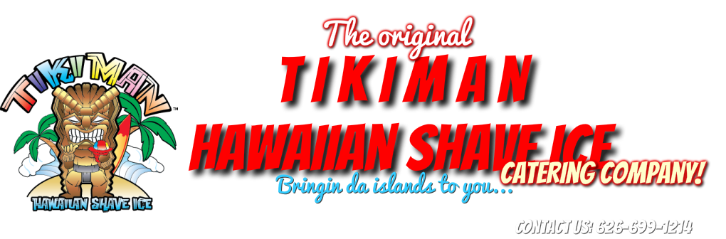TikiMan Hawaiian Shave Ice